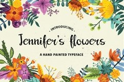 Jennifer's Flowers Script Product Image 1