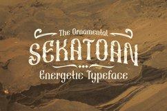 Sekatoan Typeface Product Image 1