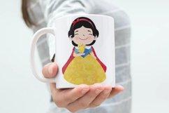 Cute Princess Clip art Set 2 Product Image 3