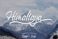 Himallaya Script Font & Swash Product Image 1