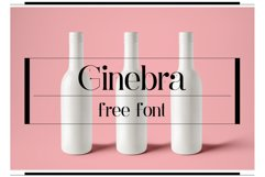 Ginebra Font Product Image 1