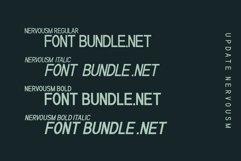 NERVOUSM Font UPDATE  Elegant San Serif Style Product Image 2
