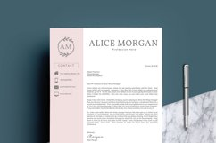 Professional Creative Resume Template - Alice Morgan Product Image 5