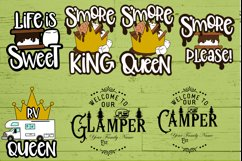 Roosell's Camping SVG Bundle Product Image 6