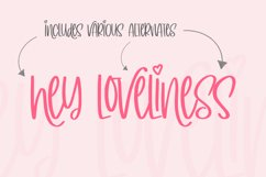 Simply Lovely Font Product Image 5