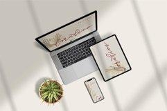 Web Font Mellani - Beauty Signature Font Product Image 5