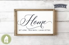 Home SVG, Farmhouse Sign SVG Product Image 1