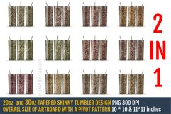 20oz and 30oz TAPERED Skinny Tumbler Sublimation, Gold Product Image 1
