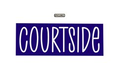 Court Side - A Playful Handwritten Font Product Image 1
