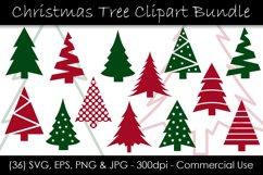 Christmas Tree SVG Bundle - Christmas Tree Clip Art Product Image 1