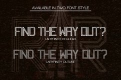 Labyrinth Typeface Product Image 2