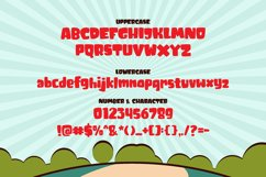 Tricky Jimmy - Comic Cartoon Font Product Image 3