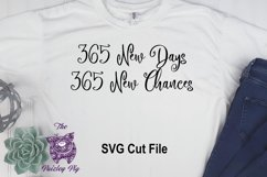 New Years 365 New Days SVG File Product Image 1