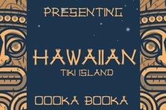 Web Font Hawaiian Tiki Island Font Product Image 1