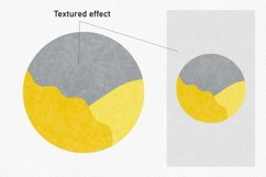 20 Abstract Instagram Story Highlight Icons - Yellow & Gray Product Image 3