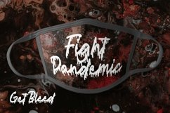Web Font Get Bleed - Horror Fonts Product Image 6