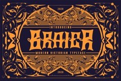 Braier | Modern Victorian Typeface Product Image 1