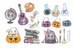School Halloween Clipart Product Image 4