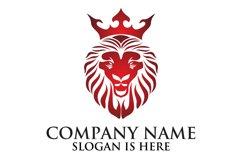 Lion face logo emblem template for business design Product Image 3