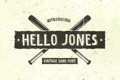 Hello Jones - Vintage Sans Font Product Image 1