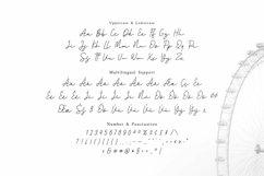 Web Font Santorica - Script Font Product Image 2