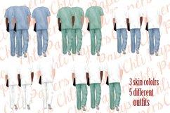 Nurses clipart,Medical clipart,Custom Nurse,Doctor clipart Product Image 3
