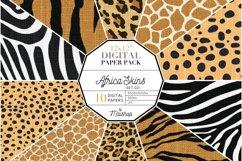 """Digital Paper Pack """"Africa Skins"""" Set 02 Product Image 1"""
