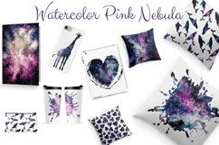 Watercolor Pink Nebula Collection Product Image 6