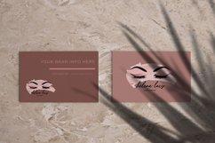 Lash Logo Design, Beauty Logo, Eyelash Logo, Lash Technician Product Image 3