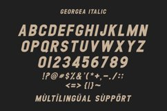 GEORGEA ALL CAPS FONT FAMILY WITH EXTRAS Product Image 14