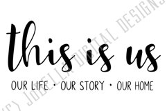 This Is Us SVG and Printable Farmhouse Design Product Image 2