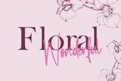 Web Font Cottager - Monoline Calligraphy Font Product Image 2