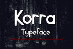 Korra Typeface Product Image 1