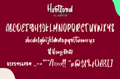 Web Font Hartford - Casual Hnadwritten Font Product Image 4