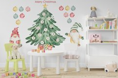Merry Christmas watercolor collection Product Image 5