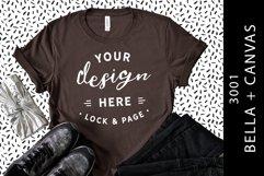 T-Shirt Mockup Bella Canvas 3001 Fashion Blog Style Bundle Product Image 3