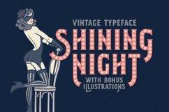 Shining Night font + bonus Product Image 1