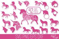 Unicorn SVG Bundle | Unicorn Mandala | Unicorn Monogram SVG Product Image 1