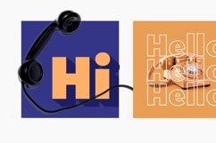 Hillray - Stylish Bold Sans Product Image 4