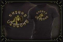 GILLES DE RAIS | gangster type font Product Image 2
