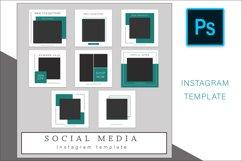 Instagram Photoshop templates bundle Product Image 5