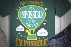 Nothing Is Impossible... SVG Design for Crafters, Cricut Product Image 2
