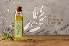 WILD FLOWERS Illustration Botanical Product Image 7