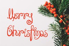 Super Holidays - A Fun Curly Font Product Image 3
