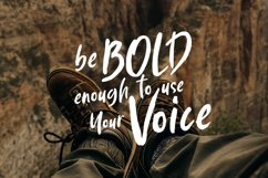 Southern | Solid Brush Font Product Image 2