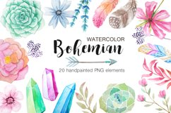 Summer Watercolor Floral BUNDLE Product Image 3