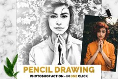 Pencil Drawing Photoshop Action Product Image 1