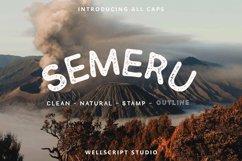SEMERU - HANDWRITTEN SANS FONT Product Image 1