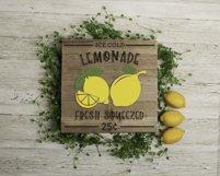 Lemonade Sign SVG Product Image 2