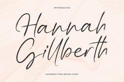Hannah Gillberth Handwritten Brush Font Product Image 1